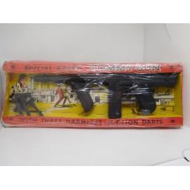 Metralleta Tomy Gun en caja de Nacoral. Magnífica.