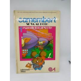 Libro Camembert se va al Polo. Ed. Altea. Nº 1. 1980.