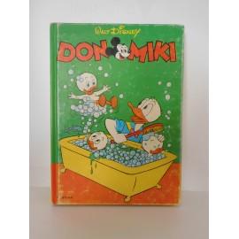 Retapado Don Miki números 344, 345 y 346. Feliz Aniversario Pato Donald.