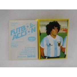 Cromos sueltos Album Futbol en Acción. Indica tus faltas.