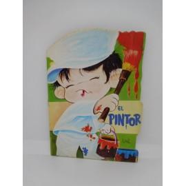 Antiguo Cuento troquelado El Pintor editorial Vilmar año 1971