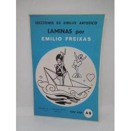 Laminas de dibujo Emilio Freixas. Numero A9. Nuevas.