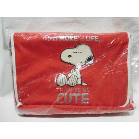 Bolsa Cartera de Snoopy. Nueva con etiqueta. Vintage.