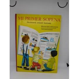 Libro Mi Primer Sopena. Diccionario Infantil Ilustrado. 1967. 1ª Edición.