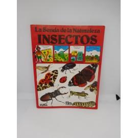 Libro Plesa SM La Senda de la Naturaleza. Insectos. Años 80.