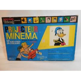 Cine Proyector Minema. Triang Meccano. Años 60. Con peliculas.