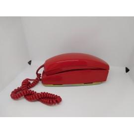 Telefono antiguo gondola en color rojo original Citesa años 60-70