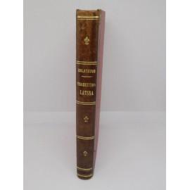 Libro Traducción Latina. Calatayud. 1894. 1ª edición.