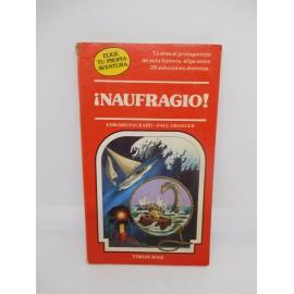 Libro Elige tu propia aventura Timun Mas nº11 Naufragio. Años 80. Ref 1.