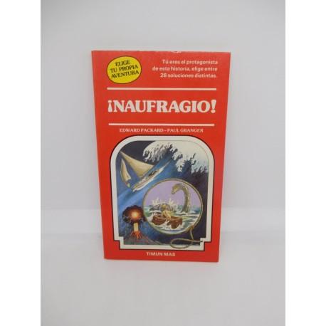 Libro Elige tu propia aventura Timun Mas nº11 Naufragio. Años 80. Ref 2.