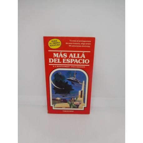 Libro Elige tu propia aventura Timun Mas nº 9 Más Allá del Espacio. Años 80.