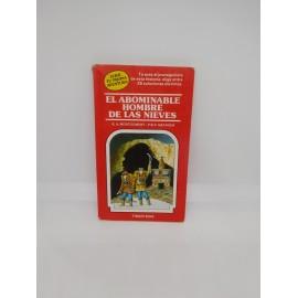 Libro Elige tu propia aventura Timun Mas nº 4 El Aboninable Hombre de las Nieves. Años 80.