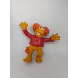 Muñeco en pvc antiguo de personaje de los Fraggles Rock Rosi Red Fraggle Fragel Boatleg?