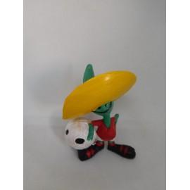 Figura pvc mascota del Mundial 86 Mejico Mexico Pique. Muy raro. Bootleg?