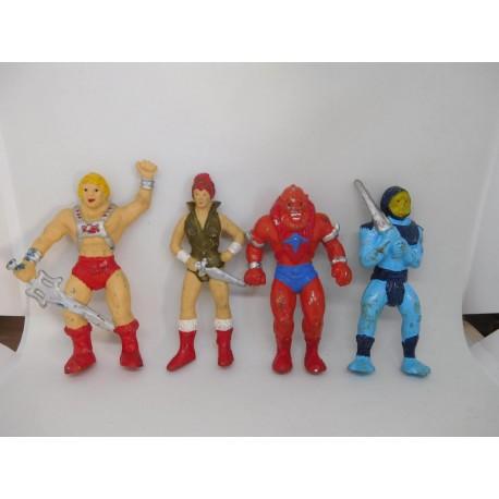 Figuras PVC años 80 de He Man y los Masters del Universo. Bootleg? Rarísimos