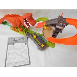 Circuito Hot Wheels Dinosaurio. Mattel. 2012. Descatalogado. Completo.