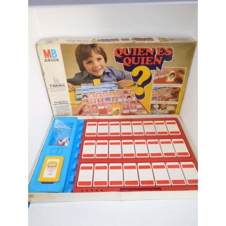 Juego original años 80 Quien es Quien? de MB. Completo. 1ª edición.