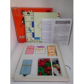 Monopoly de Borras. Años 80. Callejero de Madrid. Completo. Ref 3