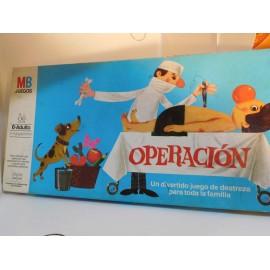 Juego Operación de MB. El original. 1981. Una joya.
