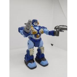 Robot armado articulado, con funcionamiento a pilas. Finales de los 90. Hap p Kid.