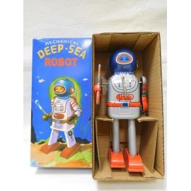 Robot de Hojalata. Deep-Sea. A cuerda. En caja.