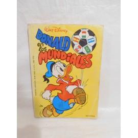 Tebeo especial Don Miki. Donald en los Mundiales. Montena. 1982.