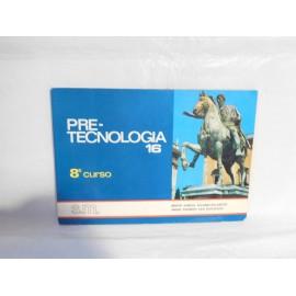 Libro PreTecnología SM 8º Curso. 1974.