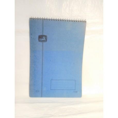 Cuaderno Centauro. Años 70. Formato Grande.