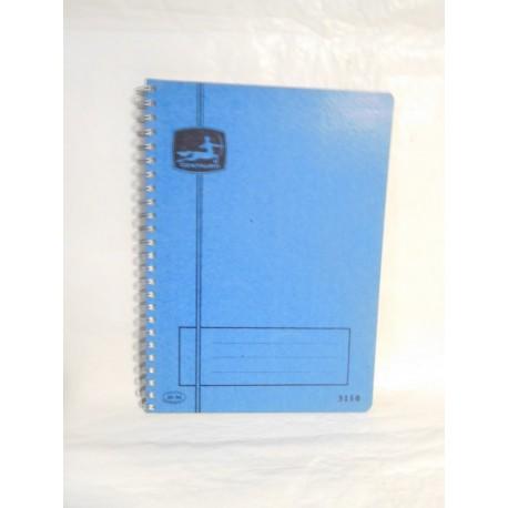 Cuaderno Centauro 5150 cuadros. Espiral. Años 70-80.
