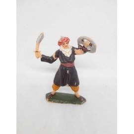 Muñeco plástico Jecsan Arabe Ben Yusuf pantalón naranja