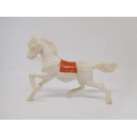Figura en plástico caballo Oeste. Jecsan, Reamsa.