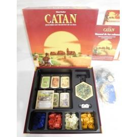 Juego de mesa Catan el juego marca Devir con ampliación o expansión