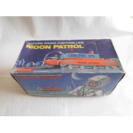 Antigua nave espacial moon patrol made in japan gakken a control remoto. En caja. Años 60. Original.