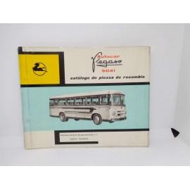 Manual mecánica de autocar Pegaso 5041, 1ª edición 1962.