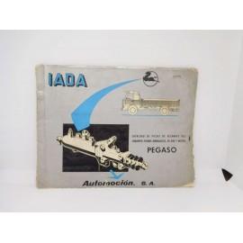 Magnifico catalogo de piezas de repuesto motor Pegaso 9029/1 1ª edicion 1969