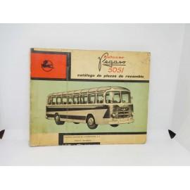 Magnifico catalogo de piezas de recambio del camión Pegaso 206 2ª edición 1960