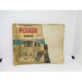 M69 magnifico catalogo de piezas de recambio del camión Pegaso 1060 1ª edición 1962