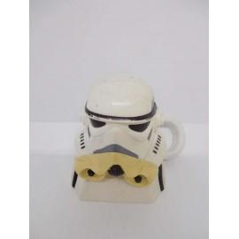 Llavero cabeza soldado imperial.  Star Wars. Guerra de las galaxias