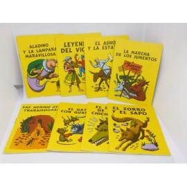 Lote de ocho cuentos editorial Susaeta 1969