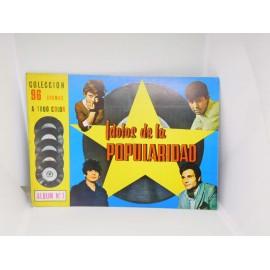Álbum IDOLOS DE LA POPULARIDAD año 1967. Pipas Tostadero. Valencia.