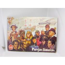 Álbum premium Ortiz Famosas Parejas.