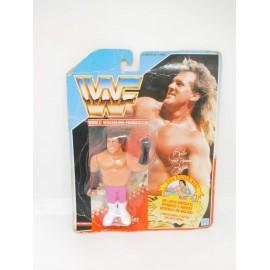 Pressing Catch WWF Brutus El Barbero.  En blister.  Años 90.