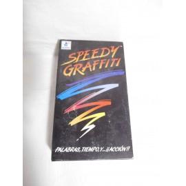 Juego de mesa Speedy Graffiti. Borras. Años 90. Muy difícil de encontrar.