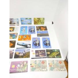 Lote de 19 tarjetas telefónicas la mayoría de España