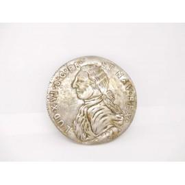 Luis XVI - gran medalla conmemorativa Francia y Navarra
