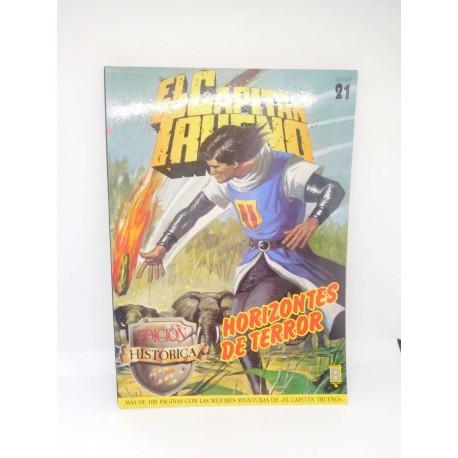El Capitán Trueno. Edición Histórica. Retapado nº 21.