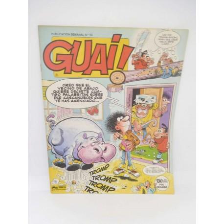 Revista Guai nº50. Editorial Grijalbo.