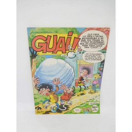 Revista Guai nº58. Editorial Grijalbo.