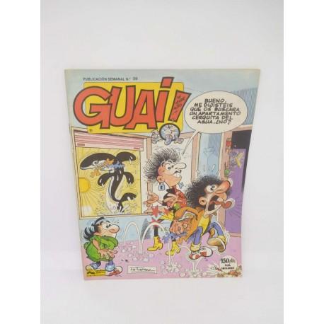 Revista Guai nº59. Editorial Grijalbo.