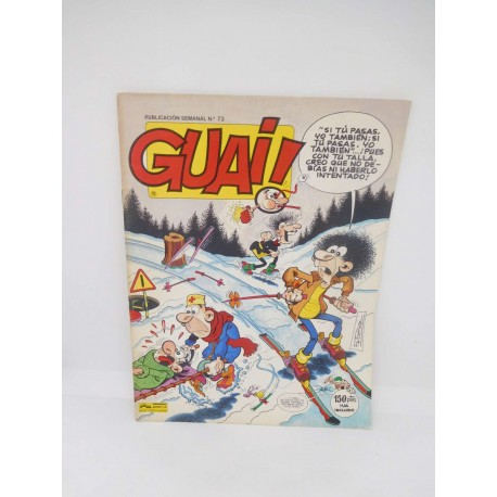 Revista Guai nº73. Editorial Grijalbo.